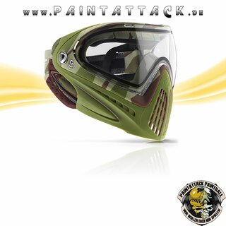 DYE I4 Paintball Maske Invision 4 - Thermal - Barracks Olive camo