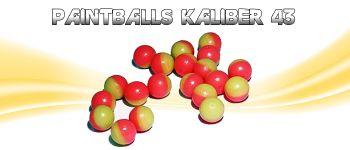 Paintballs Kaliber 43-50