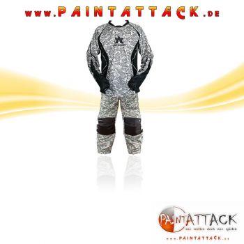 Annex SPARSET Paintball Pants / Hose & Trikot / Jersey DIGI CAMO SAND / ACU -  Größe L
