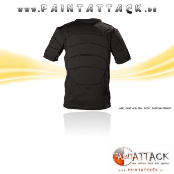 ZEN Players Bulletproof Brustpanzer / Chest Protector für Softair und Paintball - SCHWARZ -  Größe XXL / XXXL