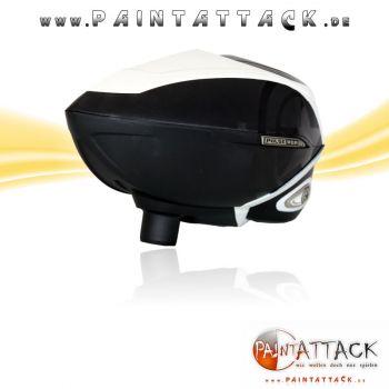 GI Sportz Pulse RDR Radar Paintball Loader / Hopper mit integriertem Chrony / Chrono - WEIß / WHITE