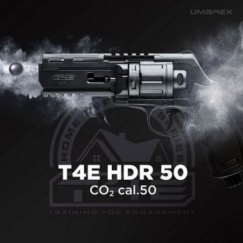 HDR 50 Revolver Umarex T4E RAM MagFed Paintball Markierer