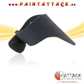 Halsschutz GROß - SCHWARZ - Neck Protector 3mm Neopren