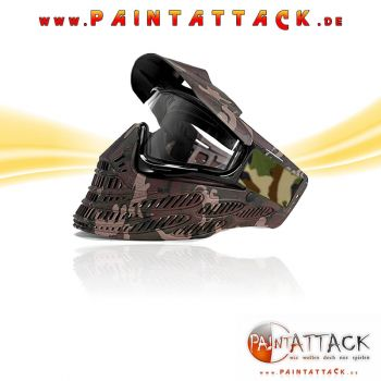 JT Spectra Flex 8 - Proflex 8 - Thermal Paintball Maske - WOODLAND CAMO