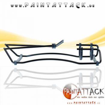 Markiererständer - Gun Stand - klappbar faltbar SCHWARZ