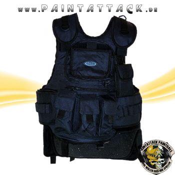 New Legion Taktische Weste / Battle Weste / Chest Protector für Softair und Paintball - SCHWARZ