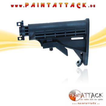 Tippmann A5 Collapsible Stock Schulterstütze - M16 Optik - einstellbar
