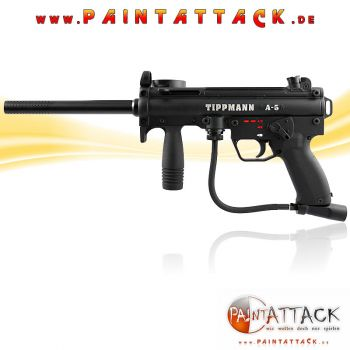 Tippmann A5 New Paintball Markierer SET 4 THERMAL