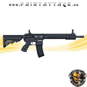 Tippmann Recon AEG Carbine 14,5 Zoll mit M-Lok Shroud 6mm BB Airsoft Gewehr schwarz