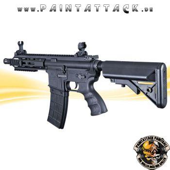 Tippmann Recon AEG Shorty 6 Zoll mit M-Lok Shroud 6mm BB Airsoft Gewehr schwarz