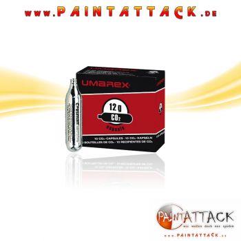 UMAREX 12g CO² Kapsel / Treibmittel Kartusche - 10 Stück