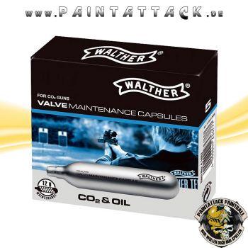 Walther Wartungskapseln 12g CO2 mit Spezialöl