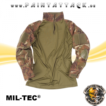 Tactical Paintball Hemd Warrior W/L-Arid Mil-Tec multitarn