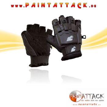 Pro Toyz / ProToyz PT-Field Paintball Handschuhe Halbfinger - SCHWARZ - Größe XL