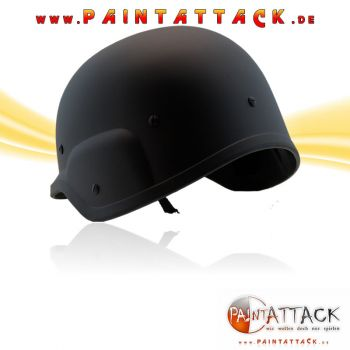 Inspire SWAT Tactical Helm für Paintball und Softair - SCHWARZ MATT