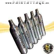 CO² Kapsel 12g Tippmann Treibmittel Kartusche - 5 Stück