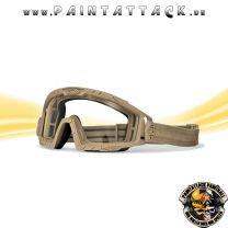 Oakley SI Ballistic Goggle 2.0 Ballistische Schutzbrille Dark Bone