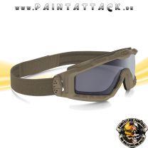 Oakley SI Ballistic Goggle Halo Terrain Tan / Grey Ballistische Schutzbrille