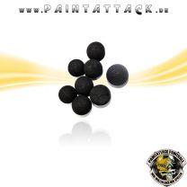 Rubberballs Gummigeschosse mit Metall Kaliber 43 - 25 Stück