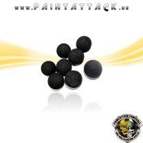 Rubberballs Gummigeschosse mit Metall Kaliber 50 - 25 Stück