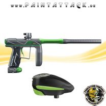Empire AXE PRO Paintball Markierer green dust mit GI LVL Loader Spapaket