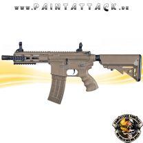 Tippmann Recon AEG Shorty 6 Zoll mit M-Lok Shroud 6mm BB Airsoft Gewehr TAN