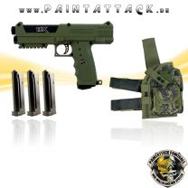 Tippmann TPX TiPX Pistole Deluxe Kit OLIV