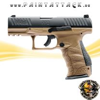 Walther PPQ FDE M2 T4E Mag Fed Paintball Pistole RAM Waffe