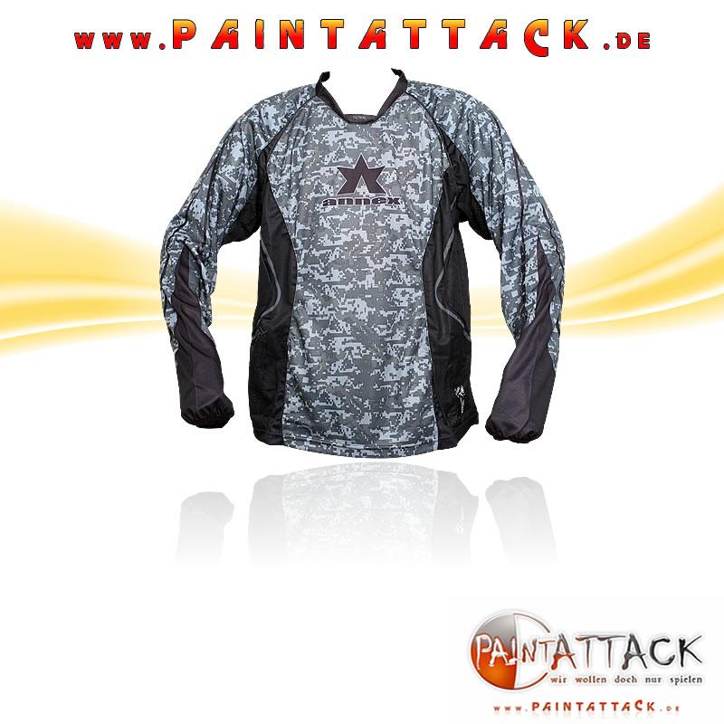 Annex Paintball Trikot / Jersey DIGI CAMO BLACK -  Größe L