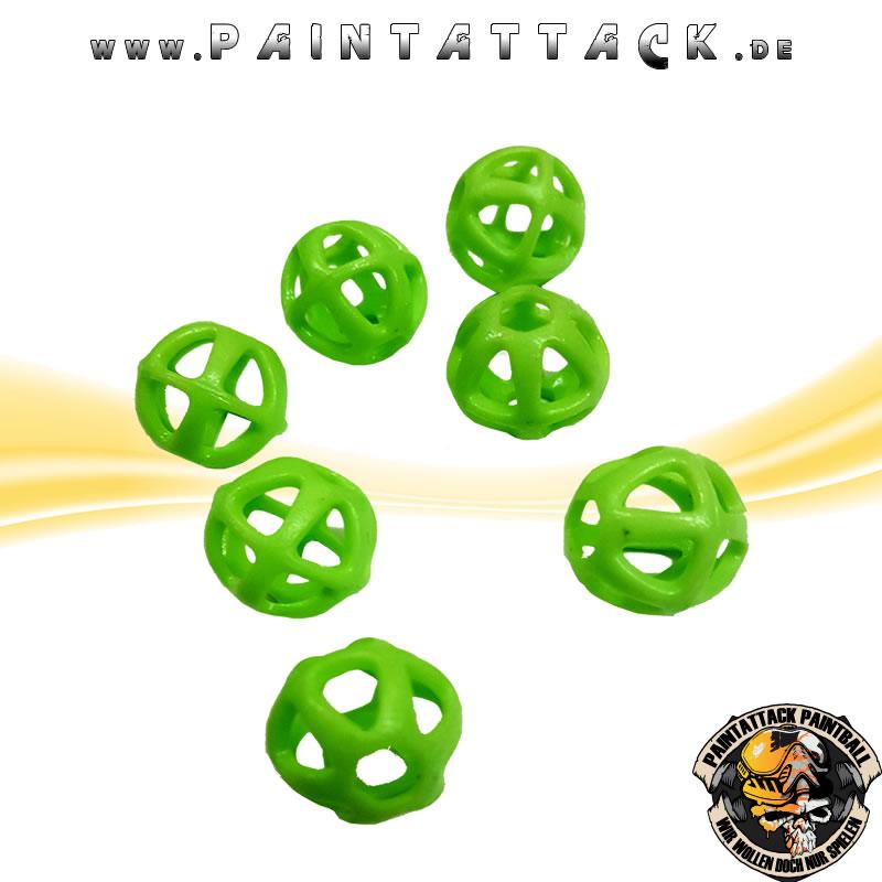 Atom6 v2.0 flexible Nahbereich Geschosse für Paintball Markierer 100 Stück