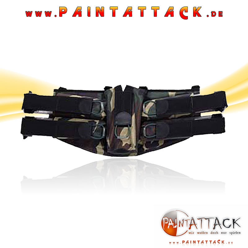 Pro Toyz / ProToyz Battlepack 4+1 - WOODLAND CAMO