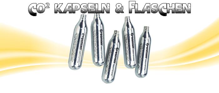 CO² Kapseln & Flaschen