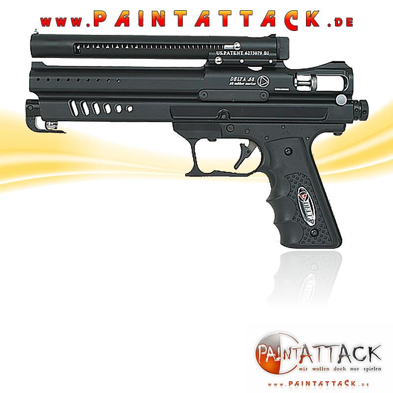 Delta Psycho Ballistics Cal. 68 - SCHWARZ