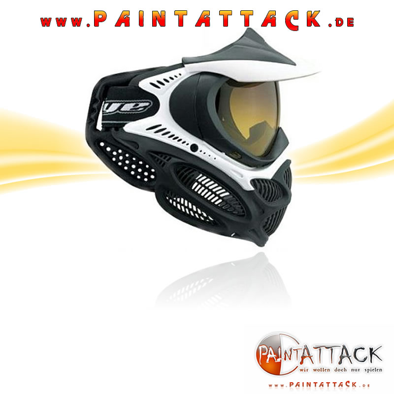 DYE I3 - Invision 3 Pro - Thermal Paintball Maske - schwarz / weiß