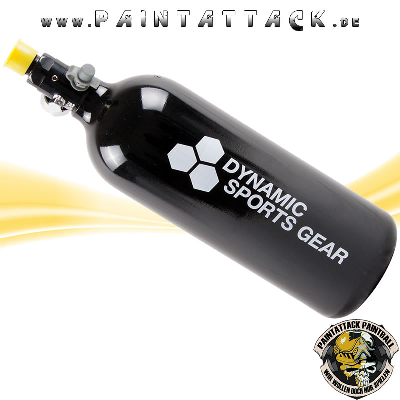 Dynamic Sports Gear 1,1 Liter Flasche Paintball HP System 200 Bar