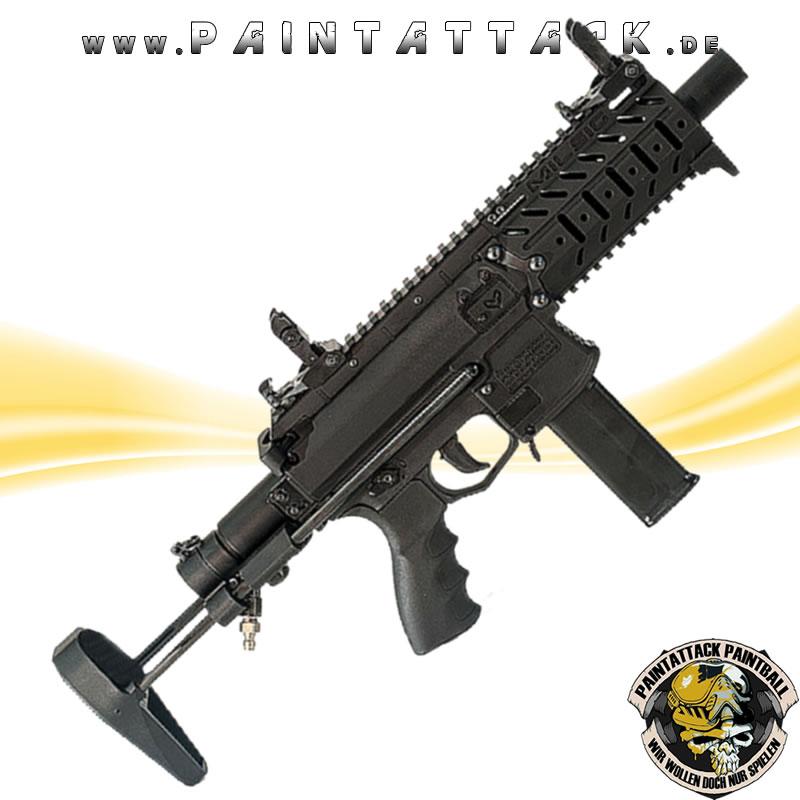 Milsig M17 Smg Close Quarters Combat Mag Fed Paintball Markierer