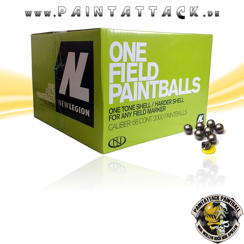 New Legion NL One Field Paintballs 2000 Stück