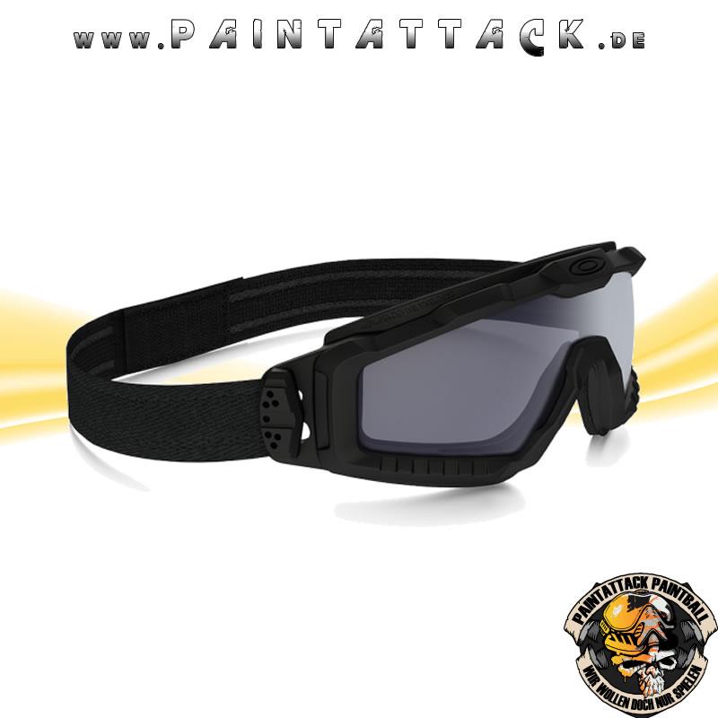 Oakley SI Ballistic Goggle Halo Matte Black/ Grey Ballistische ...