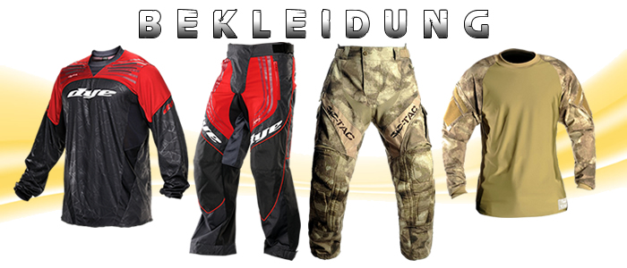 Paintball Bekleidung