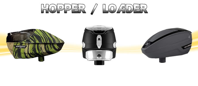 Paintball Hopper & Pods