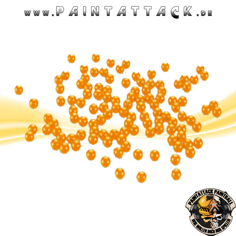 Paintballs Orange Kaliber 43 100 Stück
