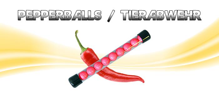 Pepperballs - Tierabwehr