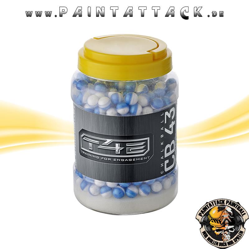Powderballs Kaliber 43 T4E CB 43 Umarex RAM 250 Stück