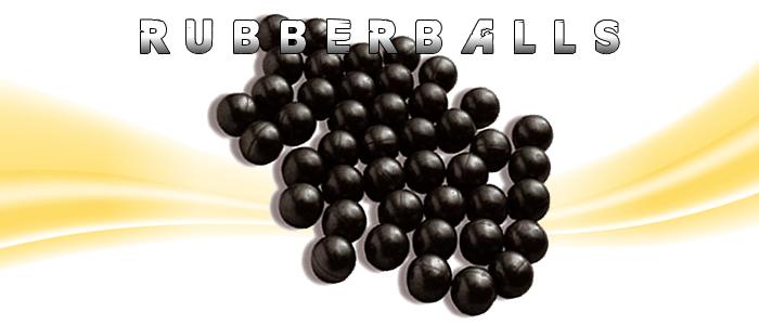 Rubberballs Gummigeschosse