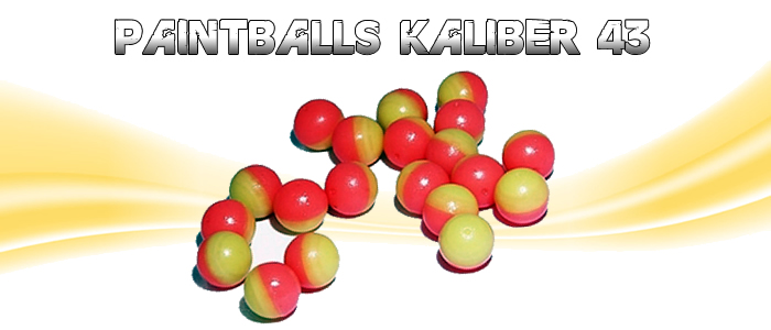 Paintballs Kaliber 43-50