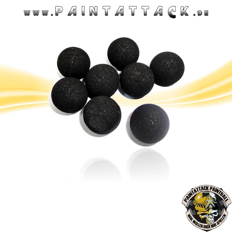 Rubberballs Gummigeschosse mit Metall Kaliber 68 - 25 Stück
