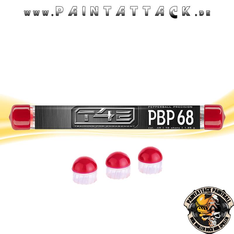 T4E PBP 50 präzisions Pepperballs Kaliber 50 für HDR Revolver