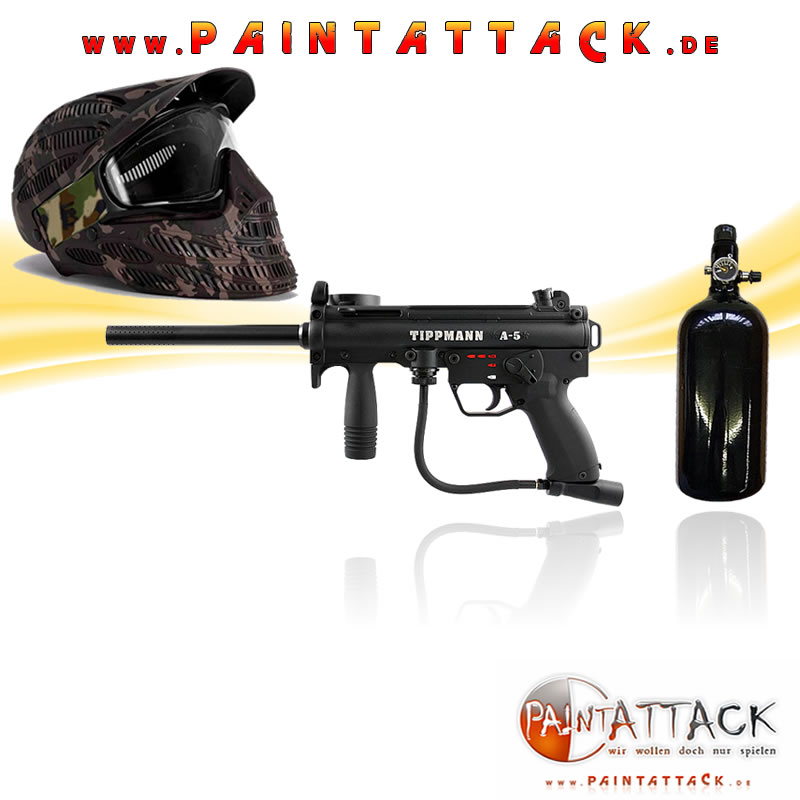 Tippmann A5 New Paintball Markierer SET 2 THERMAL