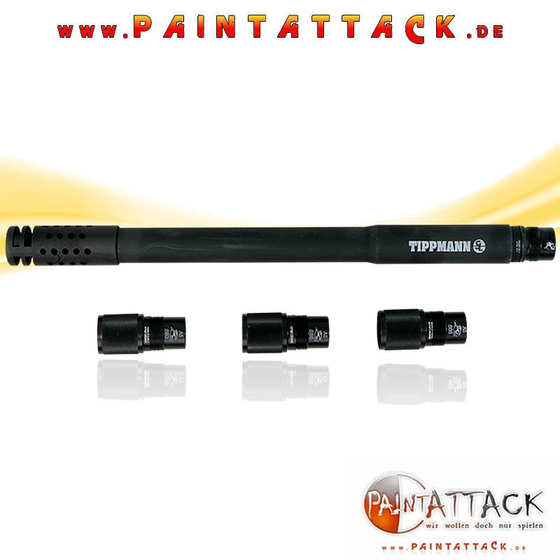 """HammerHead Barrel Straightline Laufset 16"""" 3-Fin - Tippmann A5 / X7 / BT Delta Elite"""