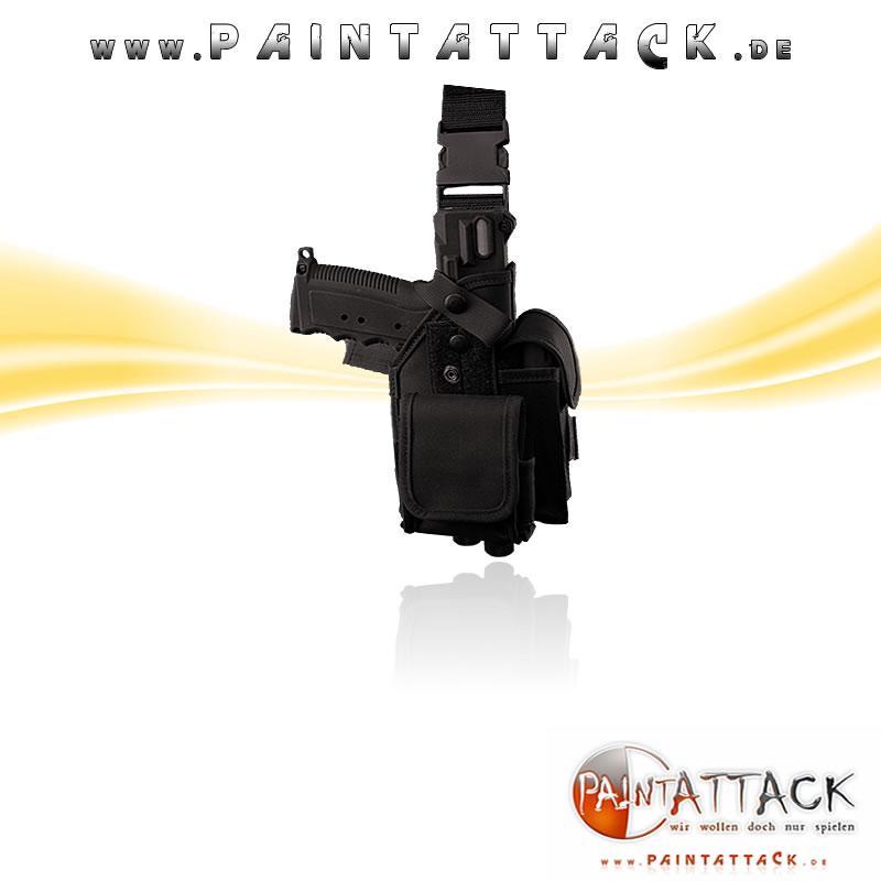 Tippmann TiPX / TPX - Tactical Leg Holster - SCHWARZ
